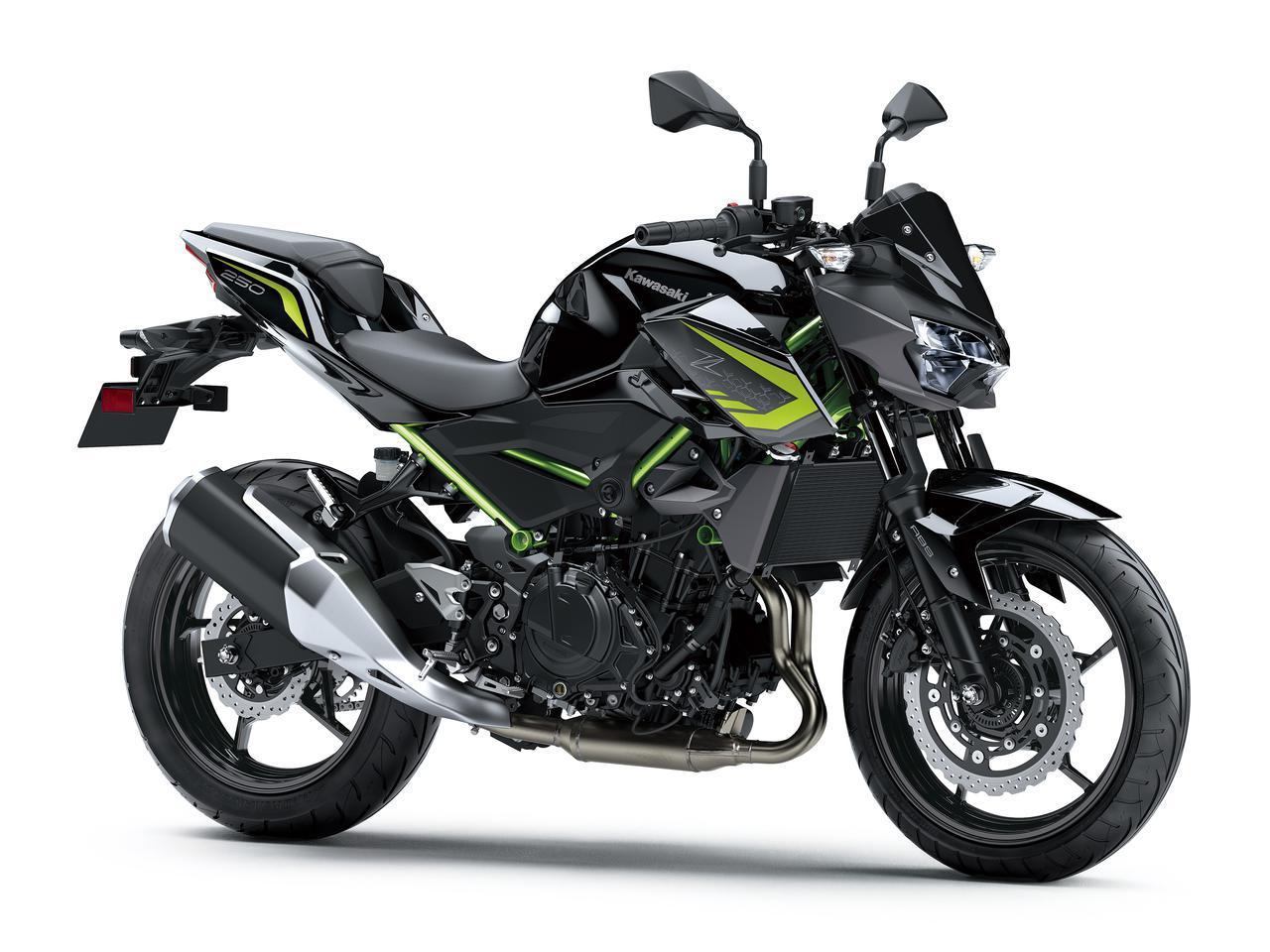 画像8: カワサキが「Z250」の2021年モデルを発売! 2020年モデルと比較してみよう【2021速報】