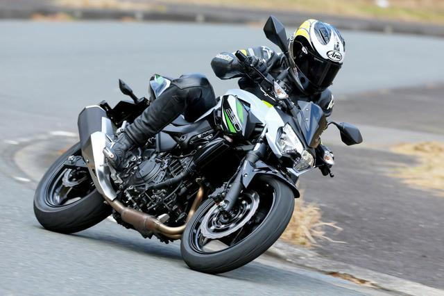 画像: カワサキ「Z250」試乗インプレ・車両解説 - webオートバイ