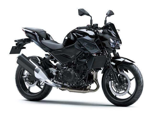 画像4: カワサキ「Z400」の2021年国内モデルが登場! 2020年モデルと比較してみよう【2021速報】