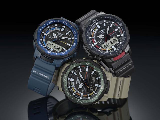 画像4: 「釣ーリング」を楽しむ人にぴったりな腕時計! プロトレックから冒険感満点の新製品「PRT-B70」が登場
