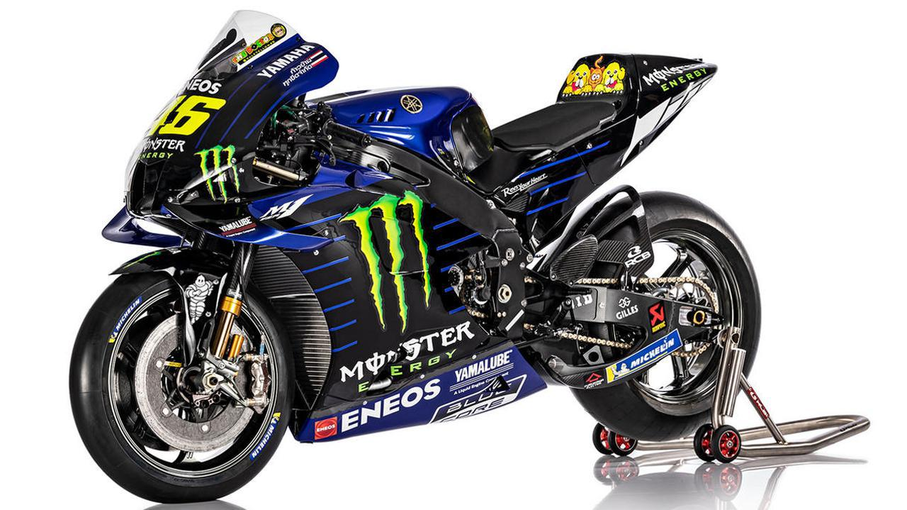 画像: バレンティーノ・ロッシ選手がMotoGPで駆るYZR-M1(Monster Energy Yamaha MotoGP)
