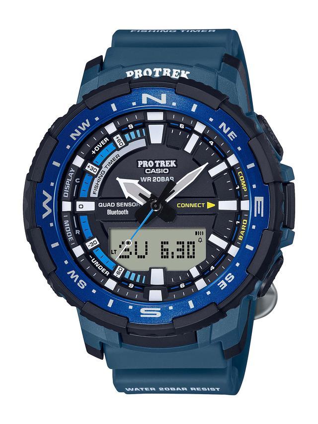 画像6: 「釣ーリング」を楽しむ人にぴったりな腕時計! プロトレックから冒険感満点の新製品「PRT-B70」が登場