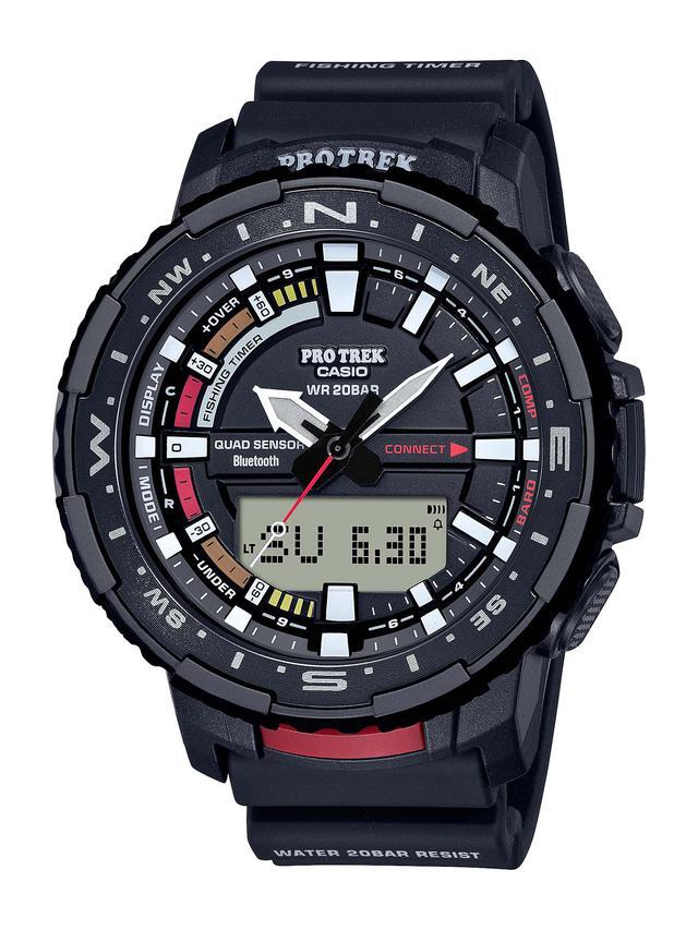 画像5: 「釣ーリング」を楽しむ人にぴったりな腕時計! プロトレックから冒険感満点の新製品「PRT-B70」が登場