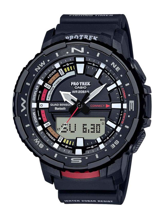 画像1: 「釣ーリング」を楽しむ人にぴったりな腕時計! プロトレックから冒険感満点の新製品「PRT-B70」が登場
