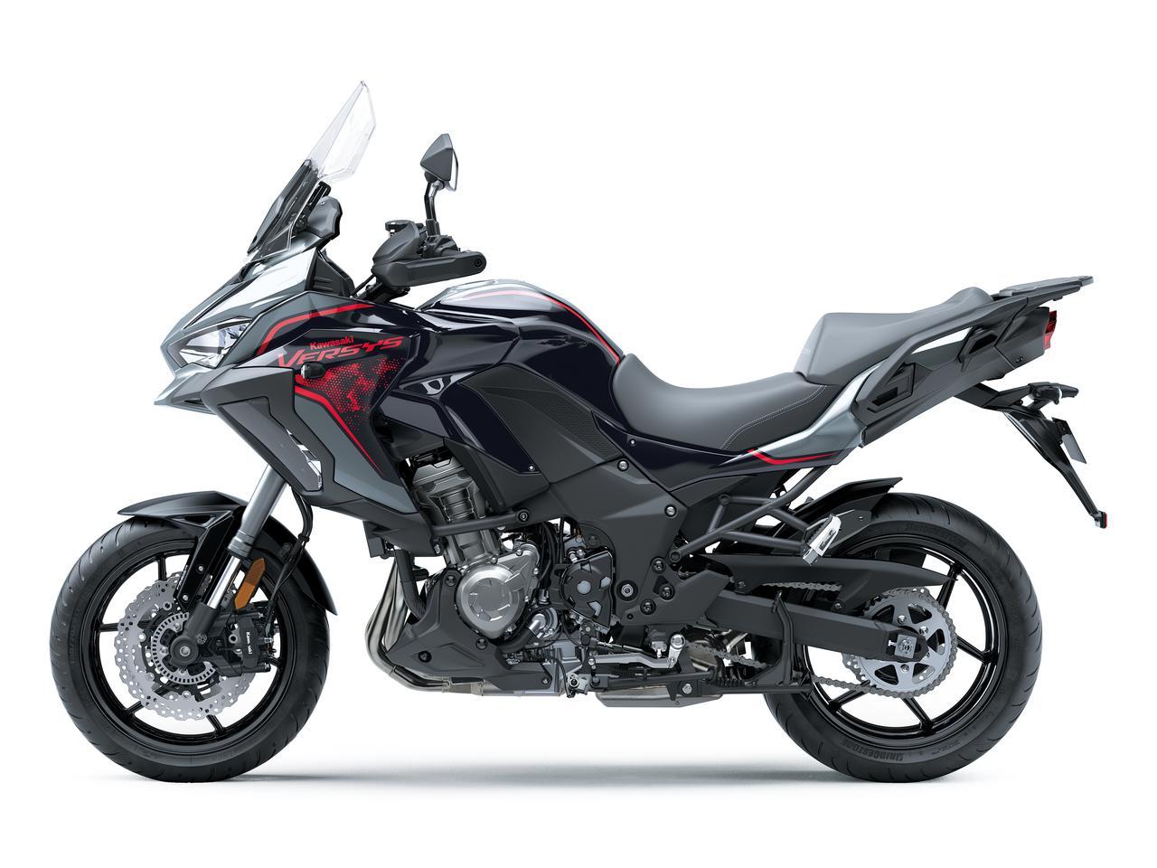Images : 3番目の画像 - 写真をもっと見る! カワサキ「ヴェルシス1000SE」(2021年モデル・欧州仕様車) - webオートバイ
