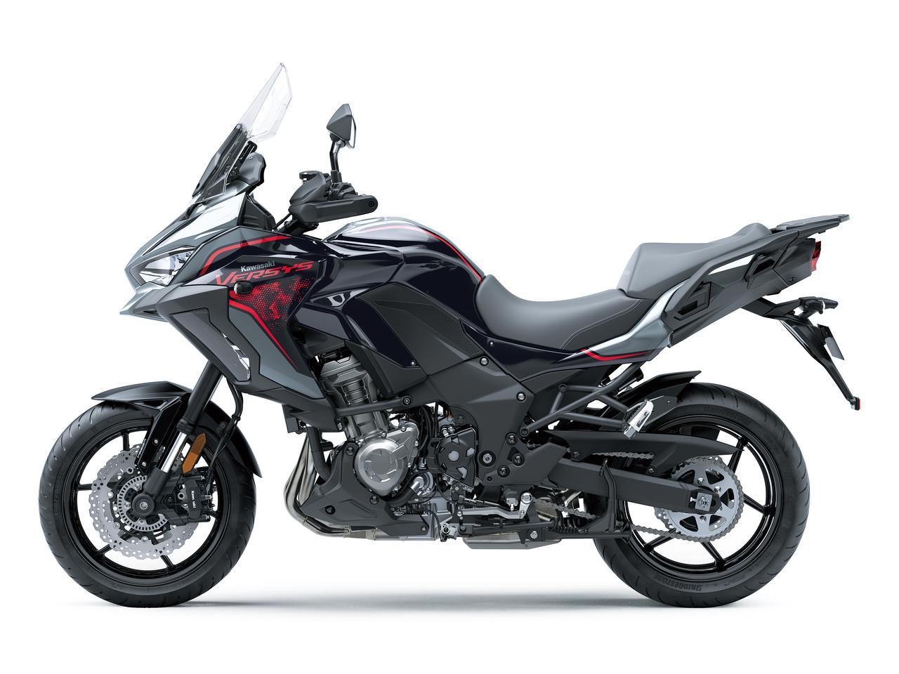 Images : 4番目の画像 - 写真をもっと見る! カワサキ「ヴェルシス1000S」(2021年モデル・欧州仕様車) - webオートバイ