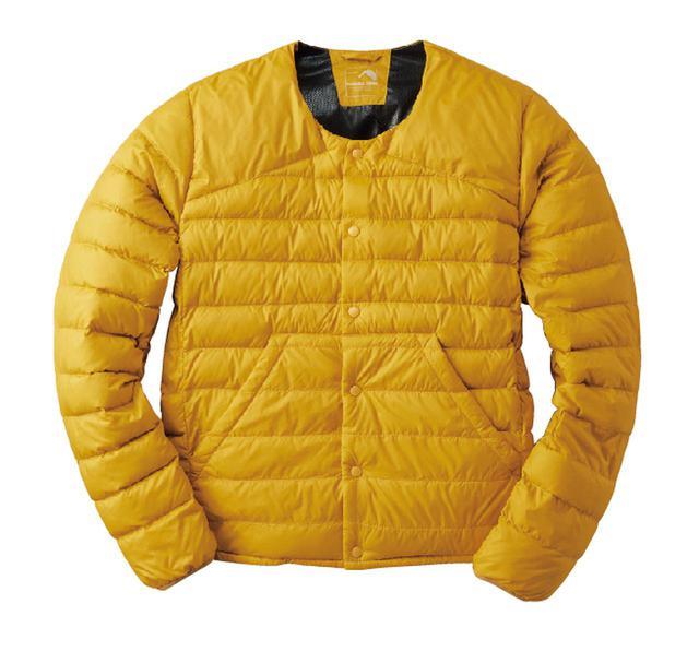 画像: ワークマン〈フィールドコア〉ライトジャケット/カラー:ダークイエロー