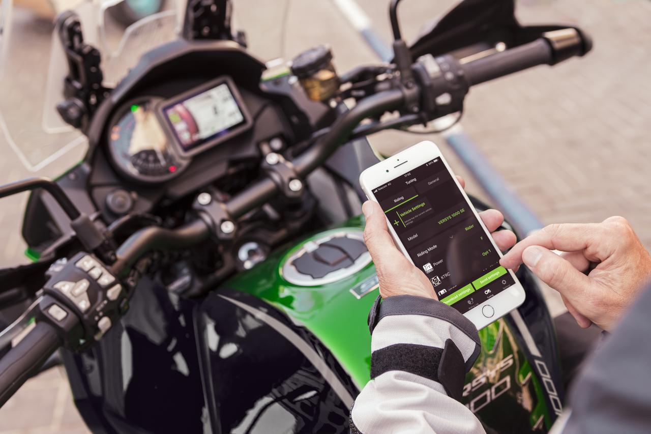 画像2: 「VERSYS 1000 SE」2021年モデルはショーワ製の最新サスペンションを二輪車で初採用
