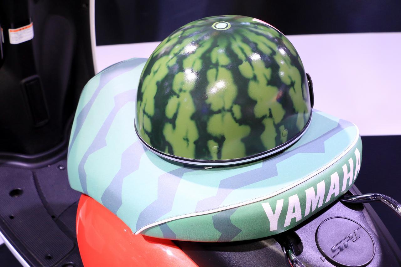 画像: あっ、これは!? 東京モーターショー2019の2日目に現れたスイカ・カスタム「E-Vino」 - webオートバイ