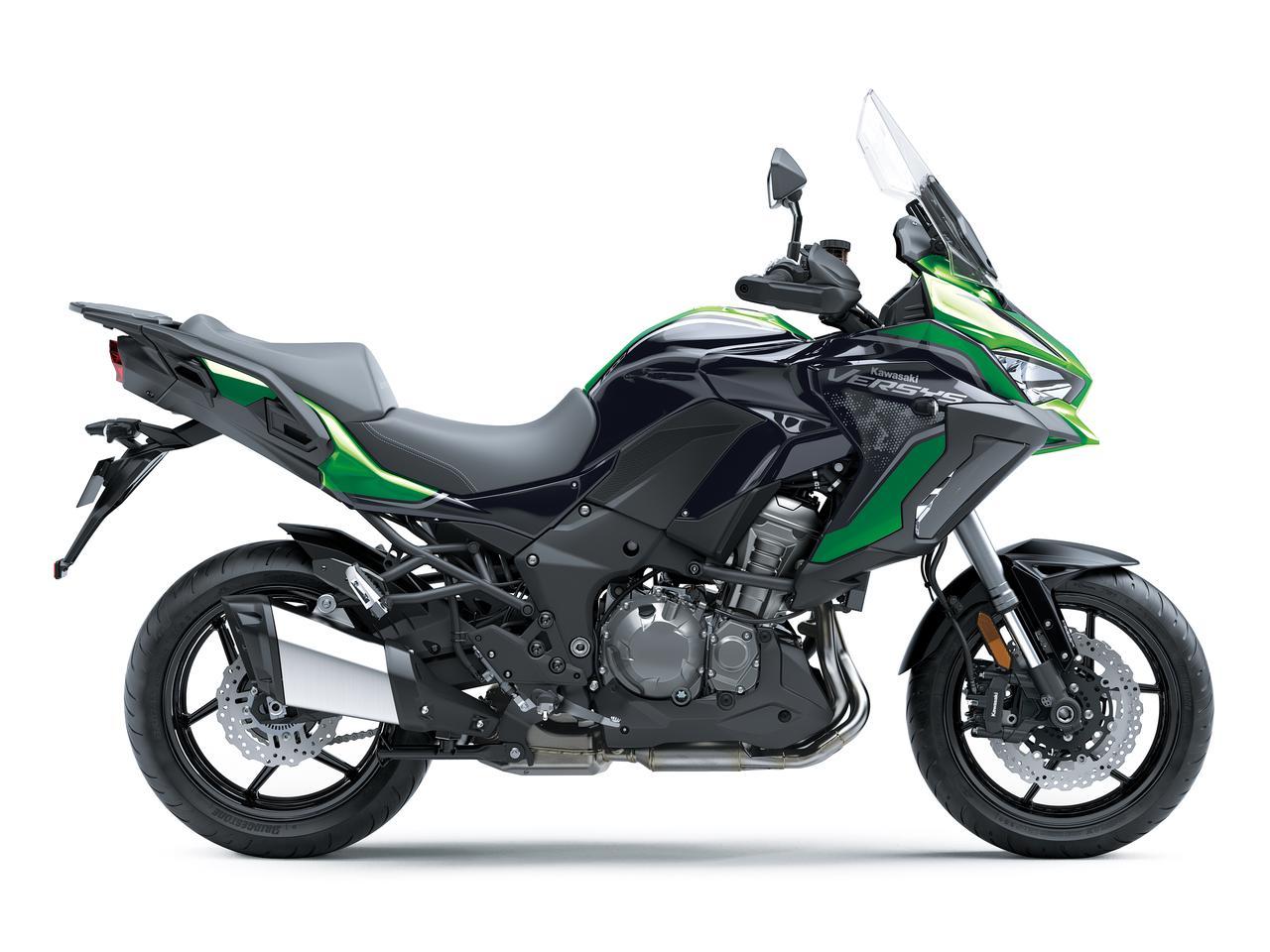 Images : 2番目の画像 - 写真をもっと見る! カワサキ「ヴェルシス1000SE」(2021年モデル・欧州仕様車) - webオートバイ