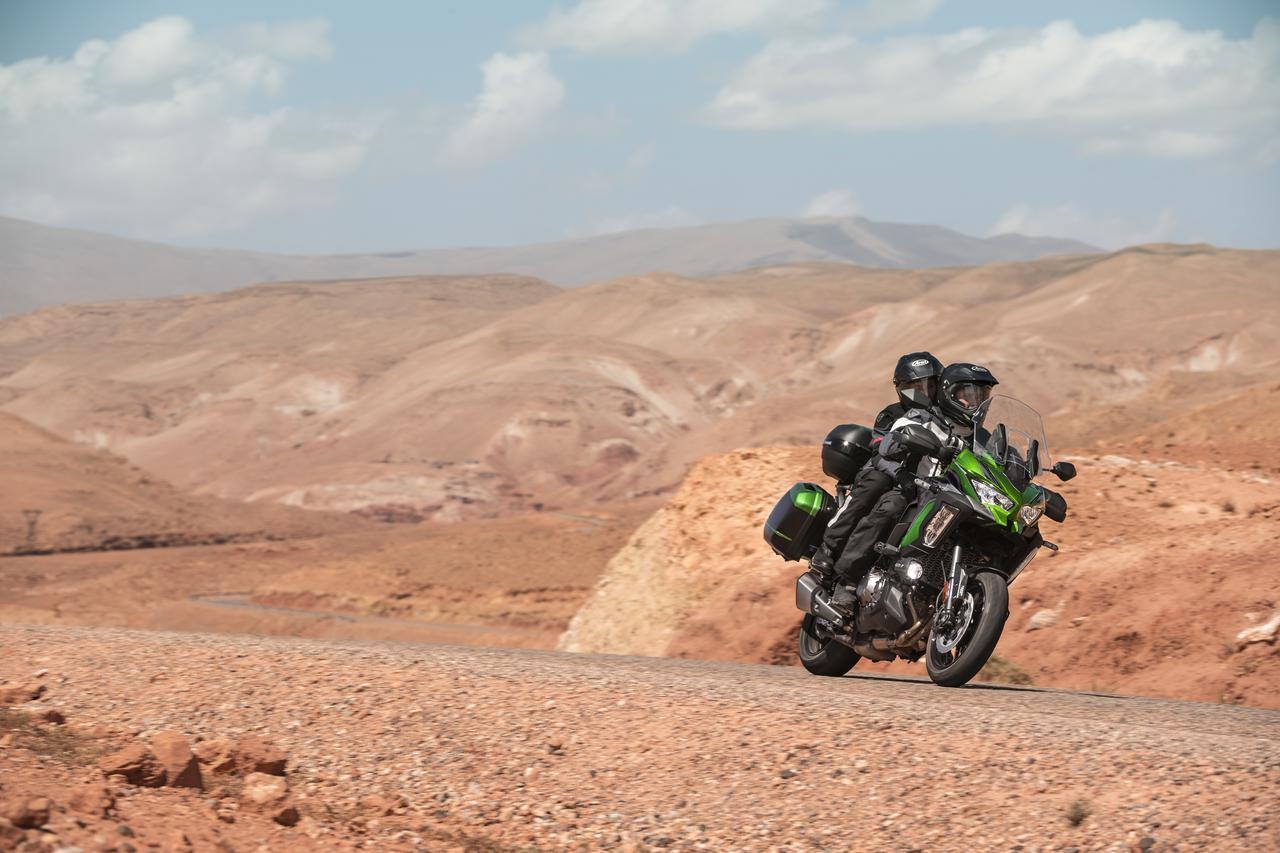 Images : 7番目の画像 - 写真をもっと見る! カワサキ「ヴェルシス1000SE」(2021年モデル・欧州仕様車) - webオートバイ