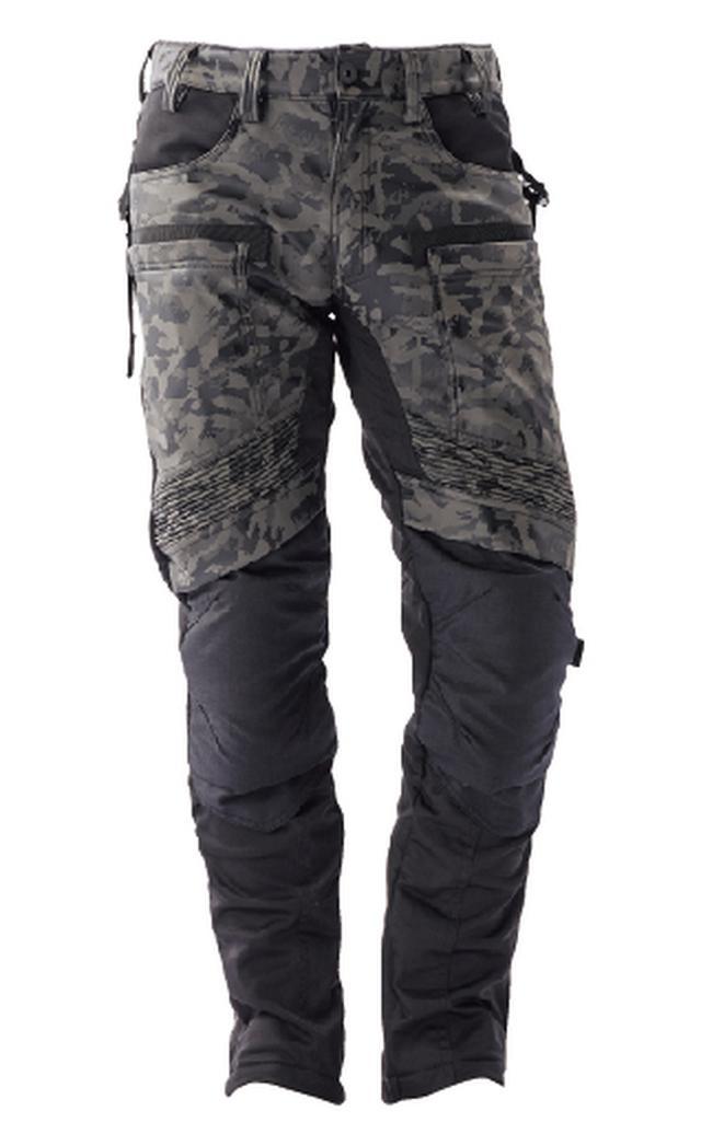 画像: ジャケットと同じく、シャドウカモフラのカラーも用意。ブラックのジャケットとカモフラのパンツなんて組み合わせもよさそう!