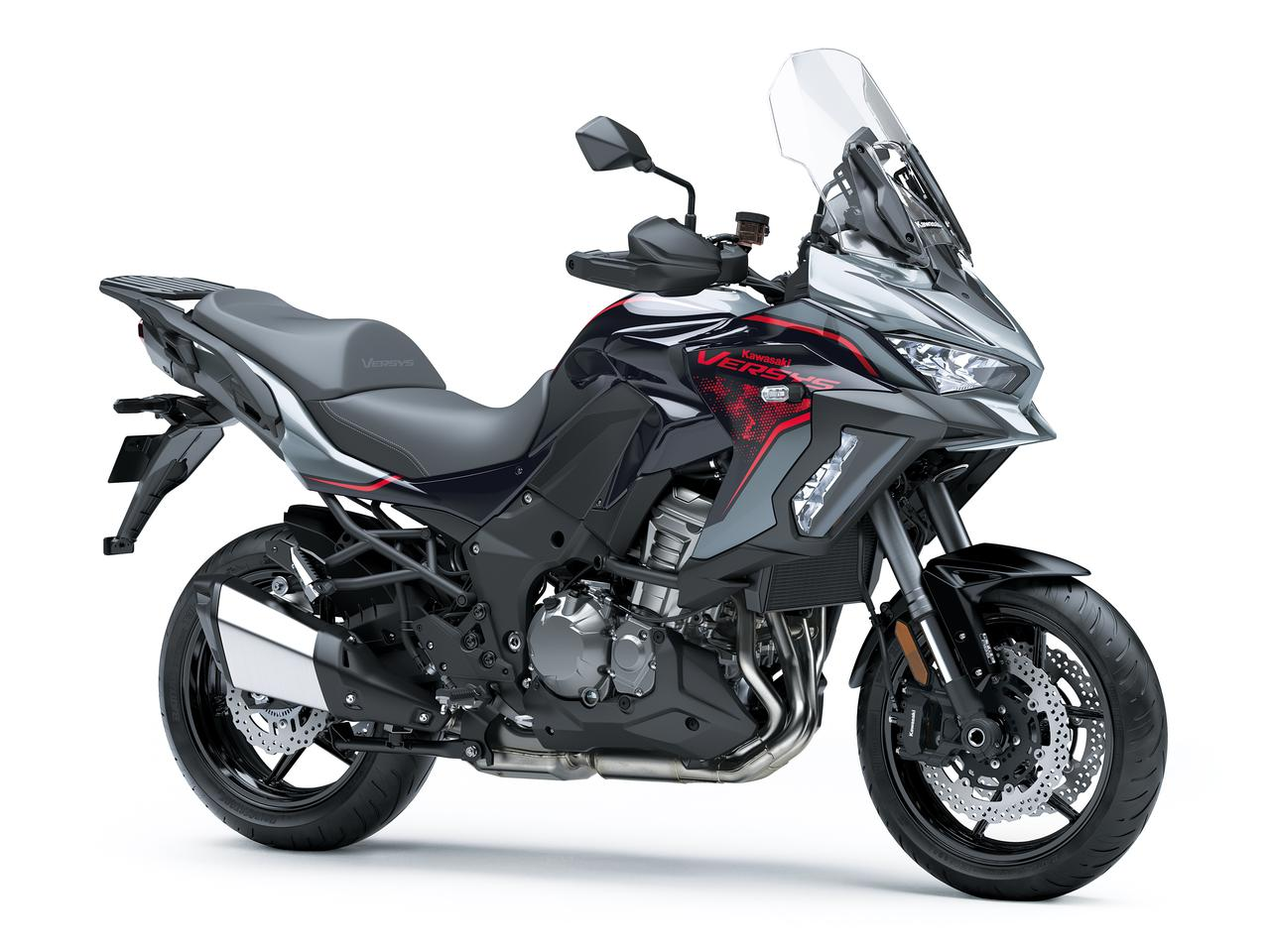 Images : 4番目の画像 - 写真をもっと見る! カワサキ「ヴェルシス1000SE」(2021年モデル・欧州仕様車) - webオートバイ
