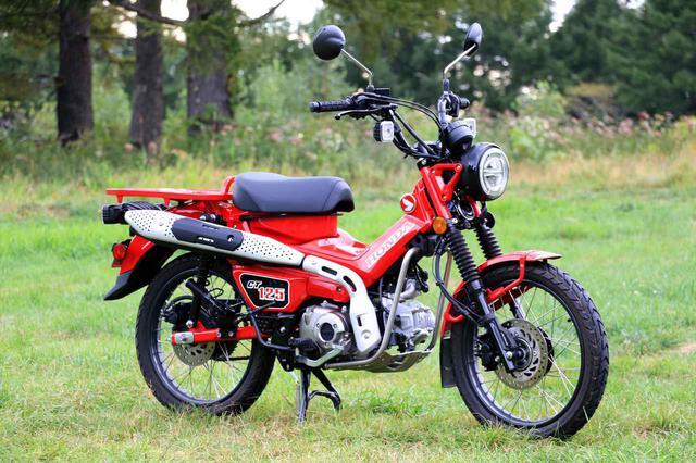 画像: Honda CT125 HUNTER CUB 総排気量:124cc 発売日:2020年6月26日 メーカー希望小売価格:44万円(消費税10%込)