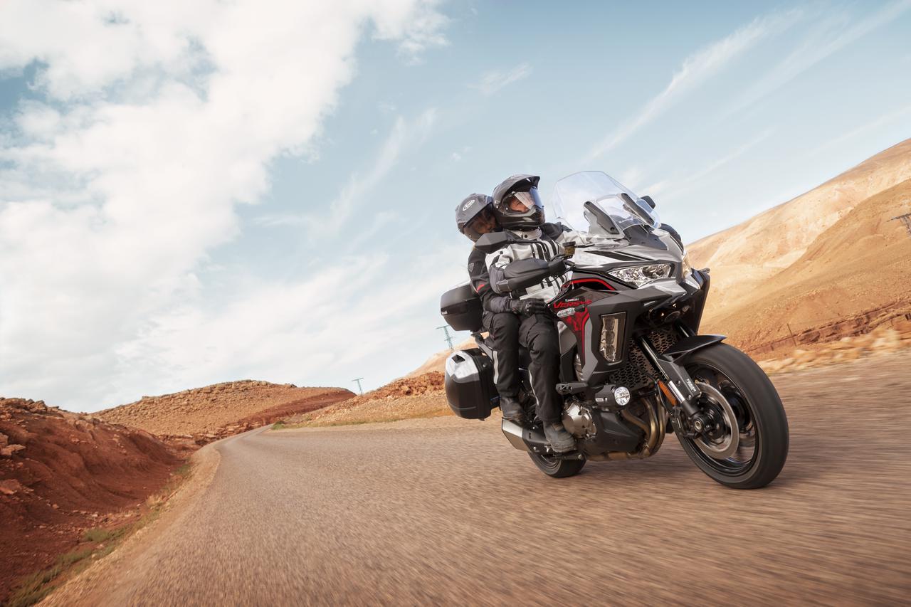 Images : 10番目の画像 - 写真をもっと見る! カワサキ「ヴェルシス1000S」(2021年モデル・欧州仕様車) - webオートバイ