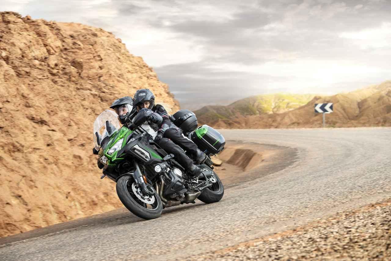 Images : 10番目の画像 - 写真をもっと見る! カワサキ「ヴェルシス1000SE」(2021年モデル・欧州仕様車) - webオートバイ