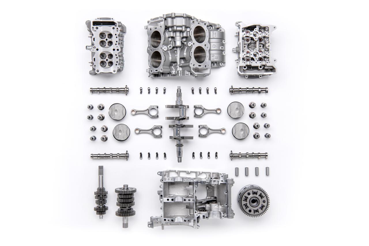 Images : 5番目の画像 - ムルティストラーダV4とエンジン「V4グランツーリスモ」 - webオートバイ