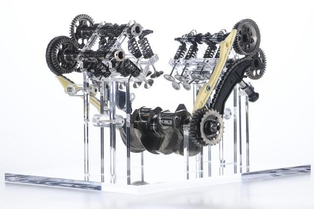 画像2: ドゥカティが新型の1158cc・V4エンジンを発表!