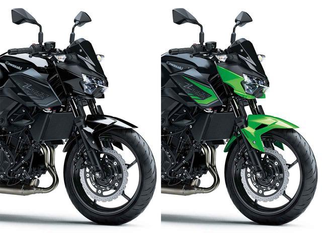 画像: カワサキ「Z400」の2021年国内モデルが登場! 2020年モデルと比較してみよう - webオートバイ