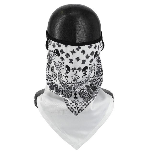 画像4: 冬のバイクにも咳エチケットにも役に立つ! 呼吸がしやすいバンダナ・フェイスマスクをライズが発売