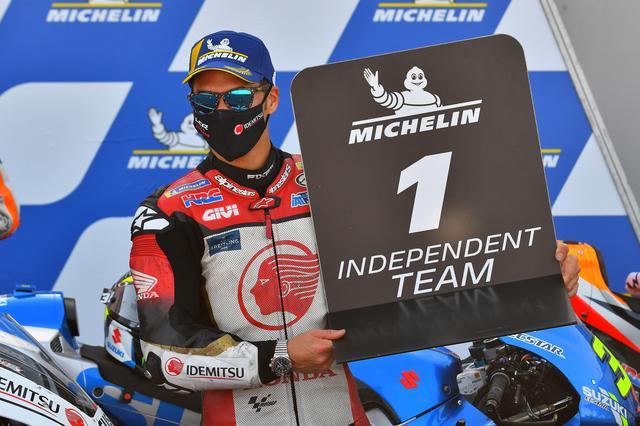 画像: インディペンデントチームNo1を獲得したタカ インディペンデントライダーランキングではクアルタラロに次ぐ2位です 3位はモルビデリ、4位はミラー!