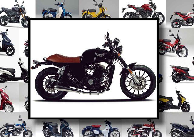 画像: レオンアート「ベッセル125」【最新125cc大図鑑】 - webオートバイ