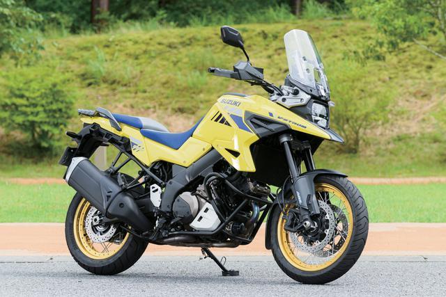 画像: スズキ Vストローム1050XT 総排気量:1036cc エンジン形式:水冷4ストDOHC4バルブV型2気筒 メーカー希望小売価格:151万8000円(Vストローム1050は143万円)