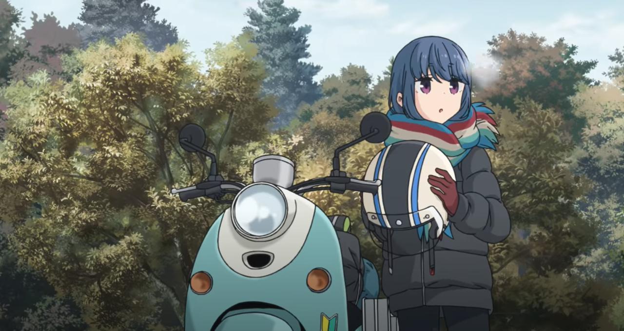 画像: TVアニメ『ゆるキャン△ SEASON2』の予告編映像が公開! あの50ccバイクもさっそく登場! - webオートバイ