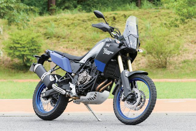 画像: YAMAHA テネレ700 総排気量:688cc エンジン形式:水冷4ストDOHC4バルブ並列2気筒 メーカー希望小売価格:126万5000円