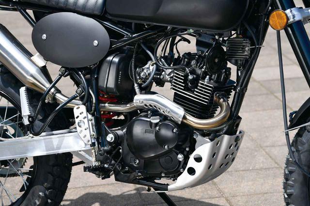 画像: エンジンは2バルブの空冷単気筒エンジン。セルつきインジェクション仕様だ。