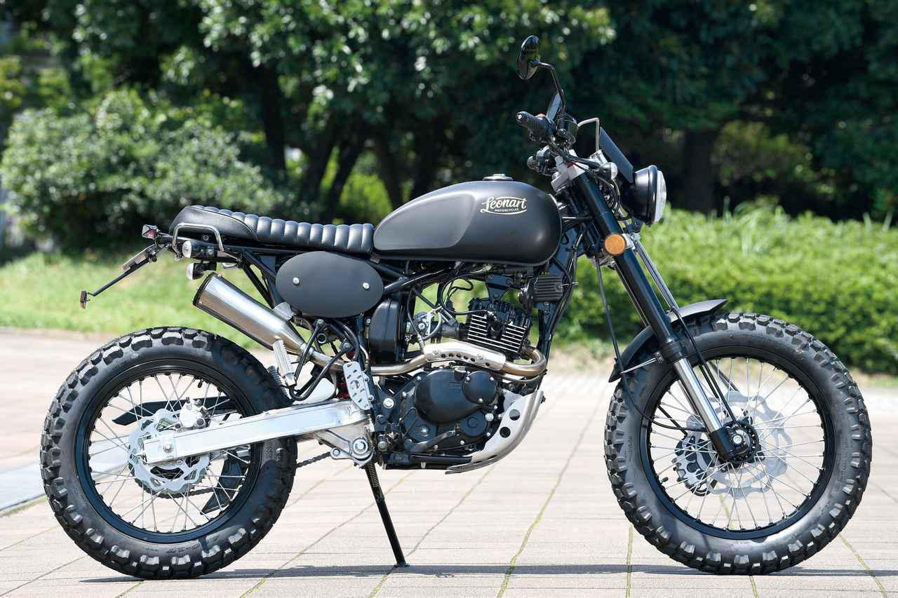 画像: Leonart TRACKER 125 総排気量:124.6cc エンジン:空冷4スト2バルブ単気筒 税込価格:44万円