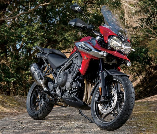 画像: TRIUMPH TIGER1200 XRT 総排気量:1215cc エンジン形式:水冷4ストDOHC4バルブ並列3気筒 メーカー希望小売価格:275万6600円