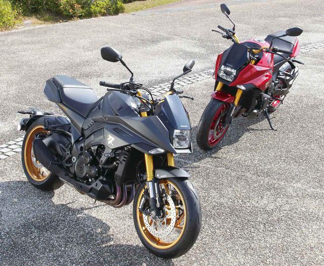 画像: あなたはどっち派? スズキ「KATANA」の特別色〈ブラック〉〈レッド〉 - webオートバイ