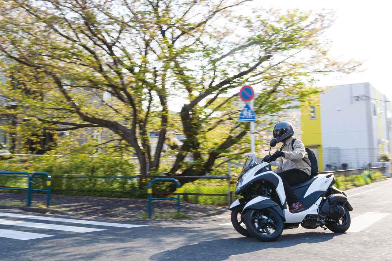 画像: 【通勤インプレ】ヤマハ「トリシティ125」で1週間通勤してみて思った、2つのこと - webオートバイ