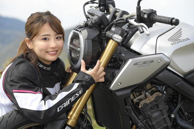 画像: 平嶋夏海 × ホンダ「CB650R」【オートバイ女子部のフォトアルバム】 - webオートバイ