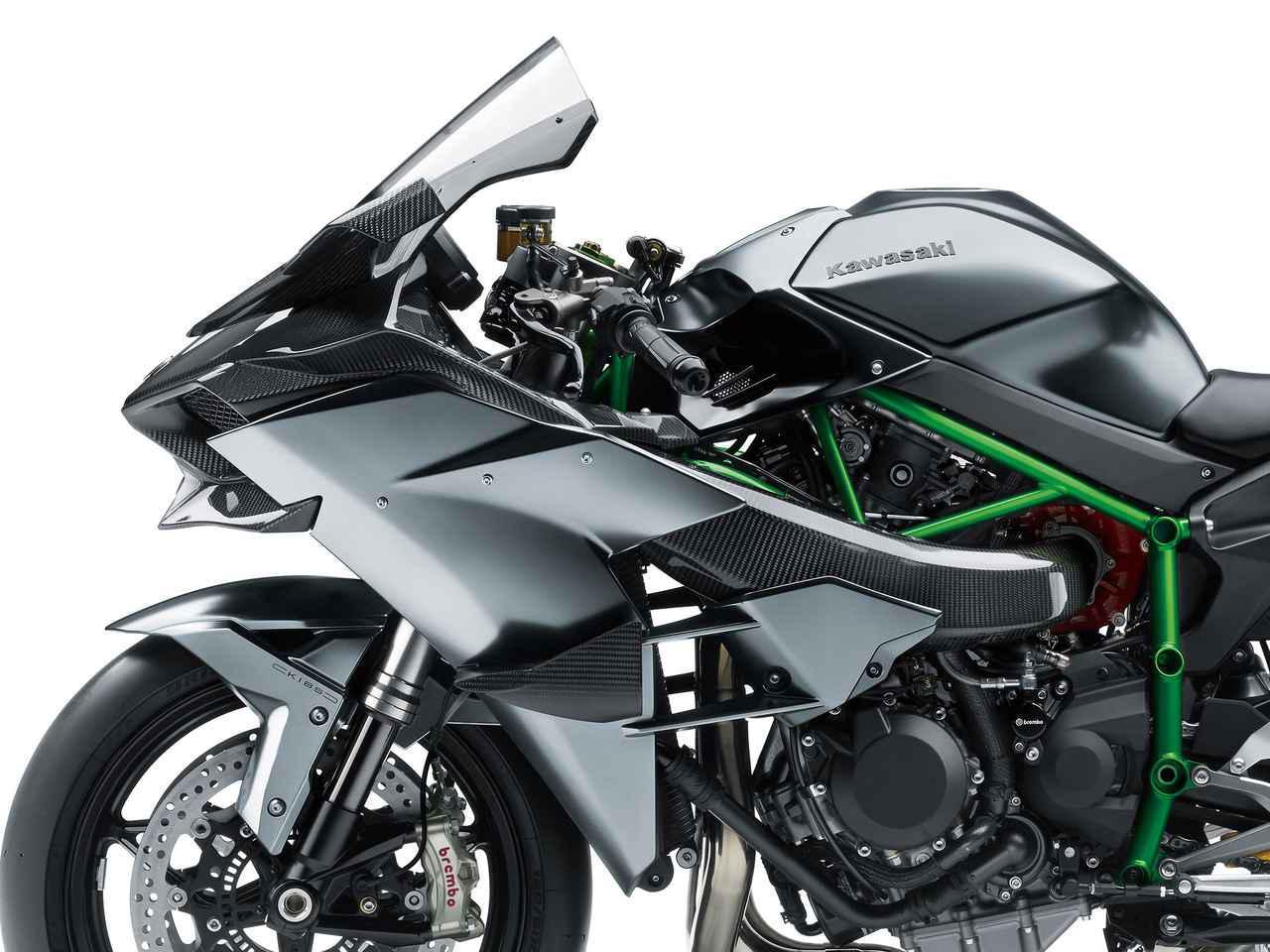 画像: 【受注生産】カワサキが「Ninja H2R」の2021年モデルを発表! 予約期間は2020年9月10日~10月21日 - webオートバイ