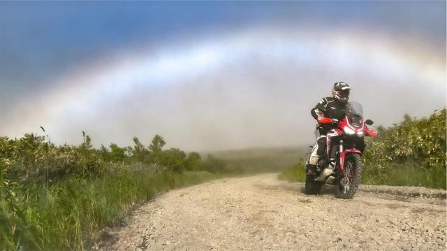 画像: 「三橋淳のアフリカツイン 北駆南走」 第21回「虹の彼方に」 - webオートバイ