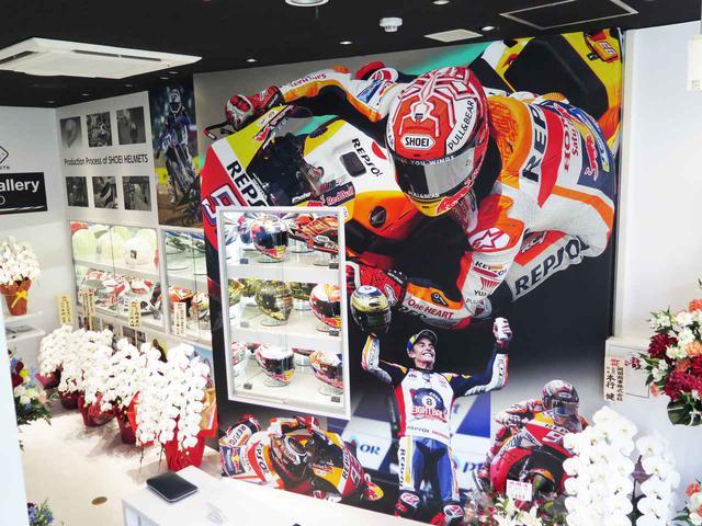 画像: SHOEIヘルメット初のショールームが東京外神田にオープン! - webオートバイ