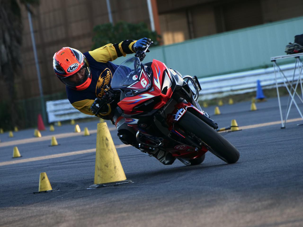 画像: A級1位・作田隆義選手&ニンジャ400