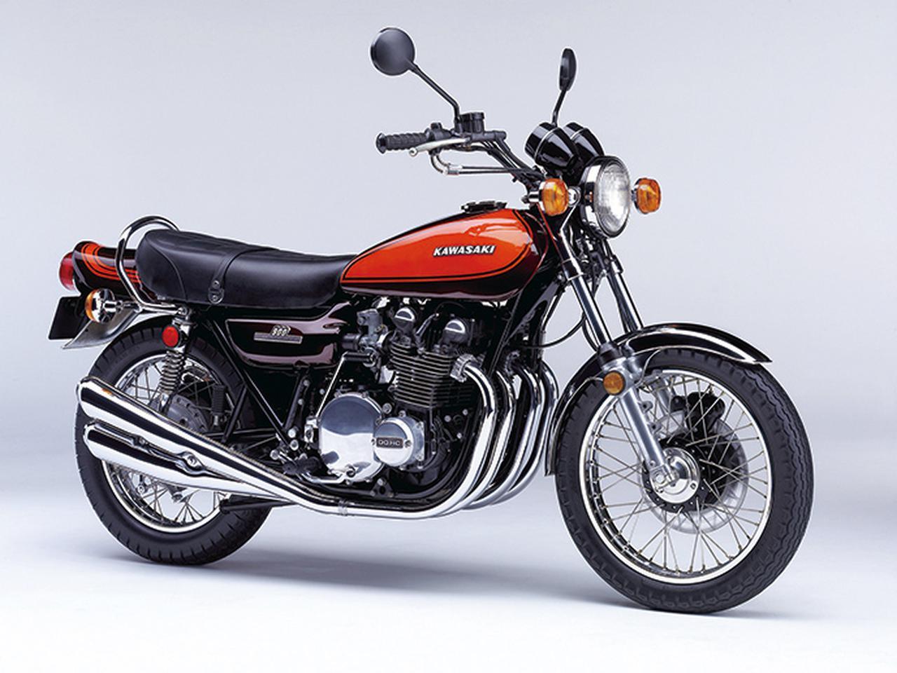 画像: 736㏄で最高出力67PSだったCBに対し、Z1の903㏄DOHC2バルブ・空冷直4は82PSを発生、当時世界最速のオートバイとして君臨した。