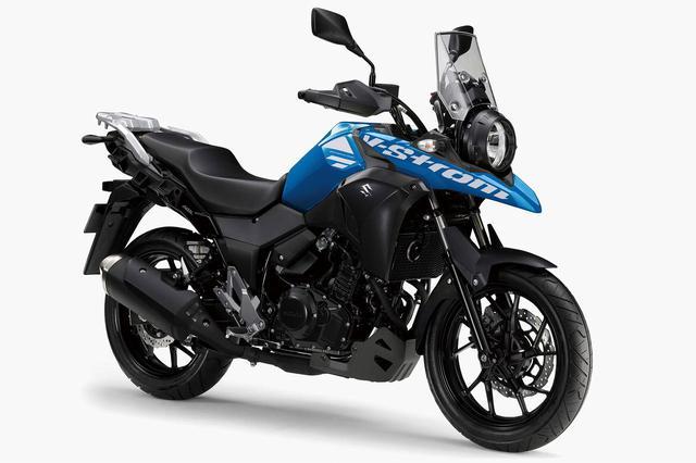 画像: Vストローム250 ABS カラー:トリトンブルーメタリックNo.2