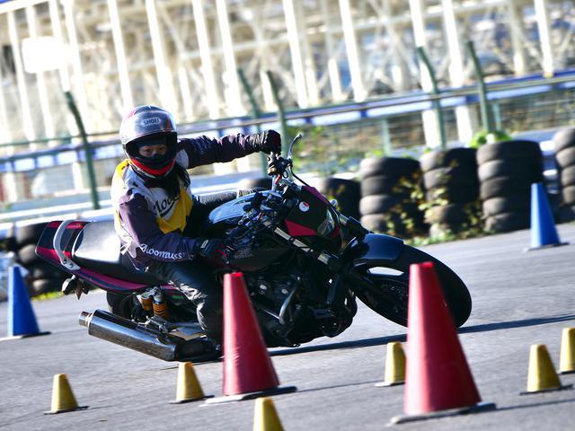 画像: ●NL級3位・土橋朋子選手&CB400SB 1分59秒420