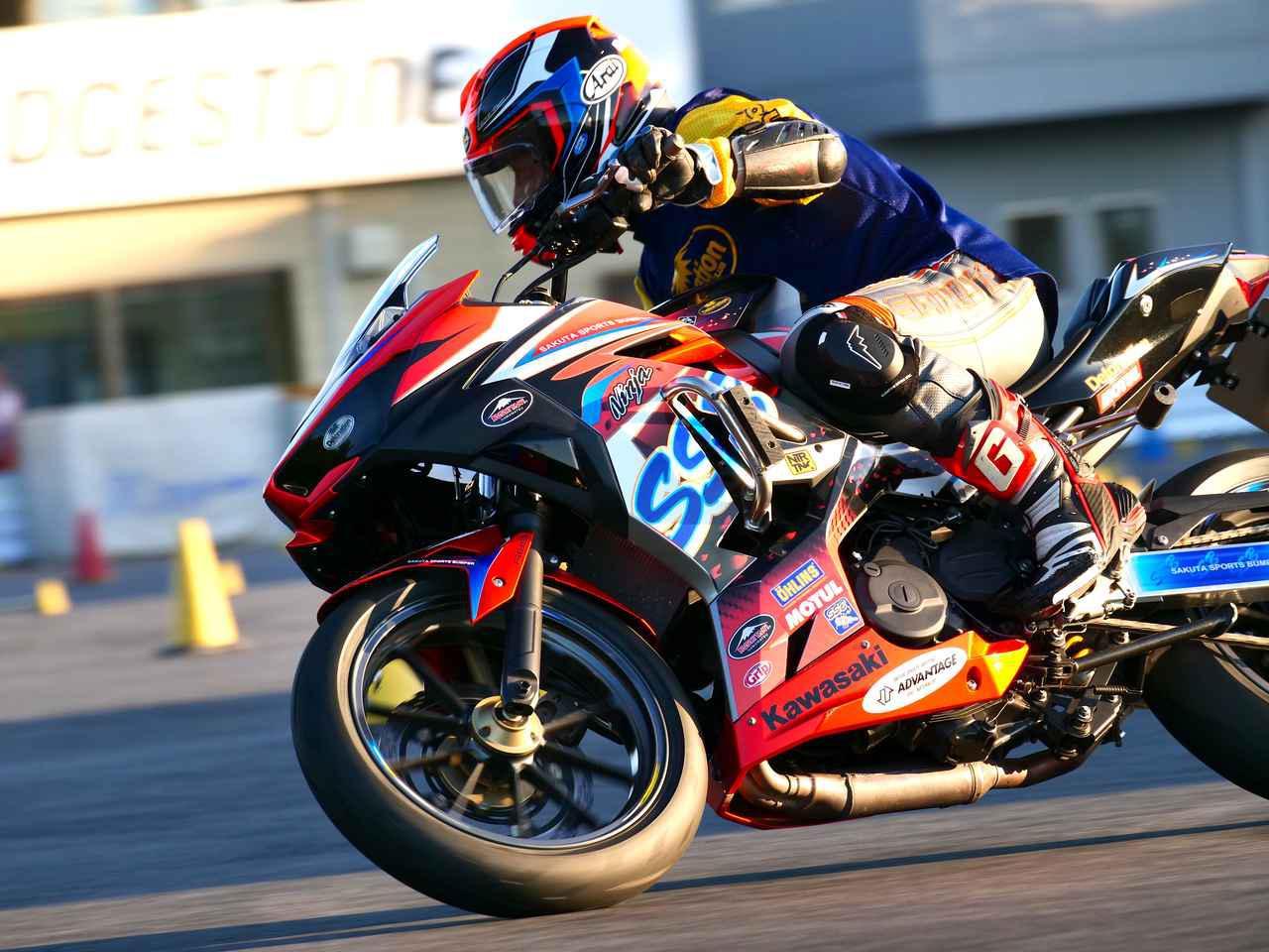 画像: 【オートバイ杯ジムカーナ】今シーズン最初で最後の一戦 作田ニンジャ400、NSR勢を下して完全勝利!【スポット戦・A級レポート】 - webオートバイ