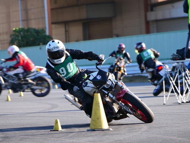 画像: ●C1級2位・江口 柊選手&NSR250R 1分45秒442