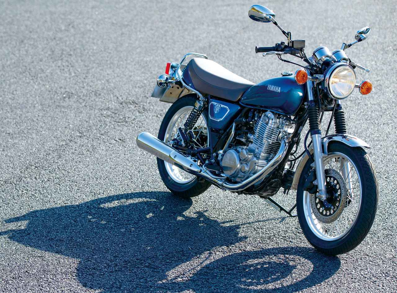 画像: ヤマハ「SR400」試乗インプレ・車両解説 - webオートバイ