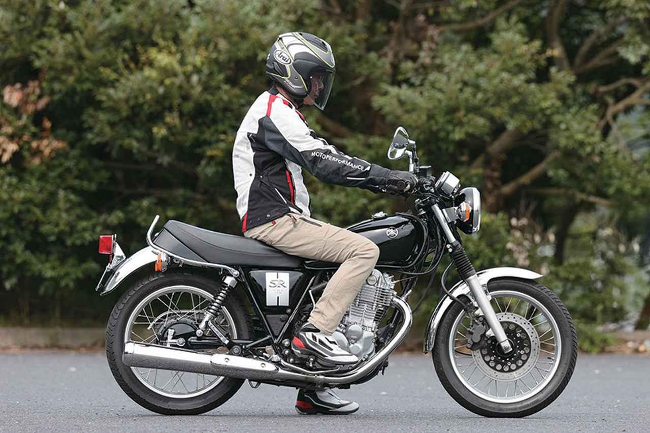 画像2: ヤマハ「SR400」ショート・インプレッション(太田安治)