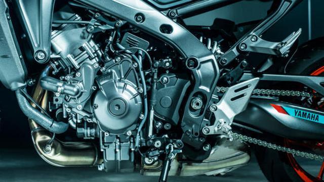 画像4: 【2021速報】ヤマハが新型「MT-09」を発表! 排気量アップ、軽量化、6軸IMUの採用、スタイリングも一新したフルモデルチェンジ!