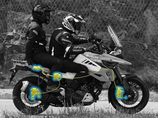画像: スズキ「Vストローム1050XT」のメカニズム&ディテール紹介! 最新の電子制御装備と進化したエンジンを徹底解説 - webオートバイ