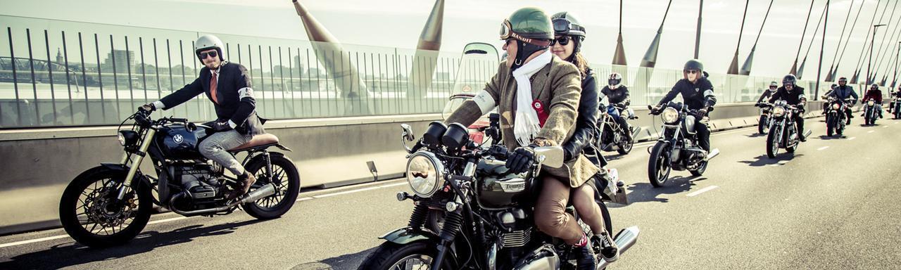 画像: Gentleman's Ride 2020が横浜で行われました。