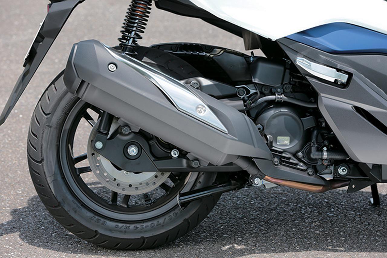 画像: エンジンは海外のフォルツァ300をスケールダウン。基準緩和の恩恵で従来型を越える出力&トルクを発揮している。